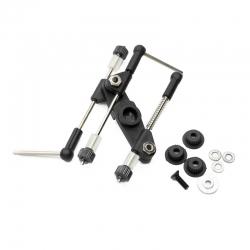 Kit tringlerie noire GAZ/FREIN universel