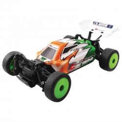 Micro buggy GT24B 1/24ème 4x4 RTR Brushless - VERTE