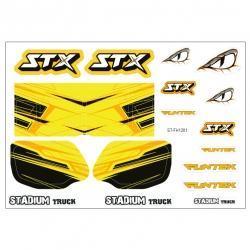 Planche stickers Funtek STX