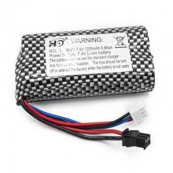 Batterie Li-ion 7.4V 1200mAh pour Funtek Trail battery