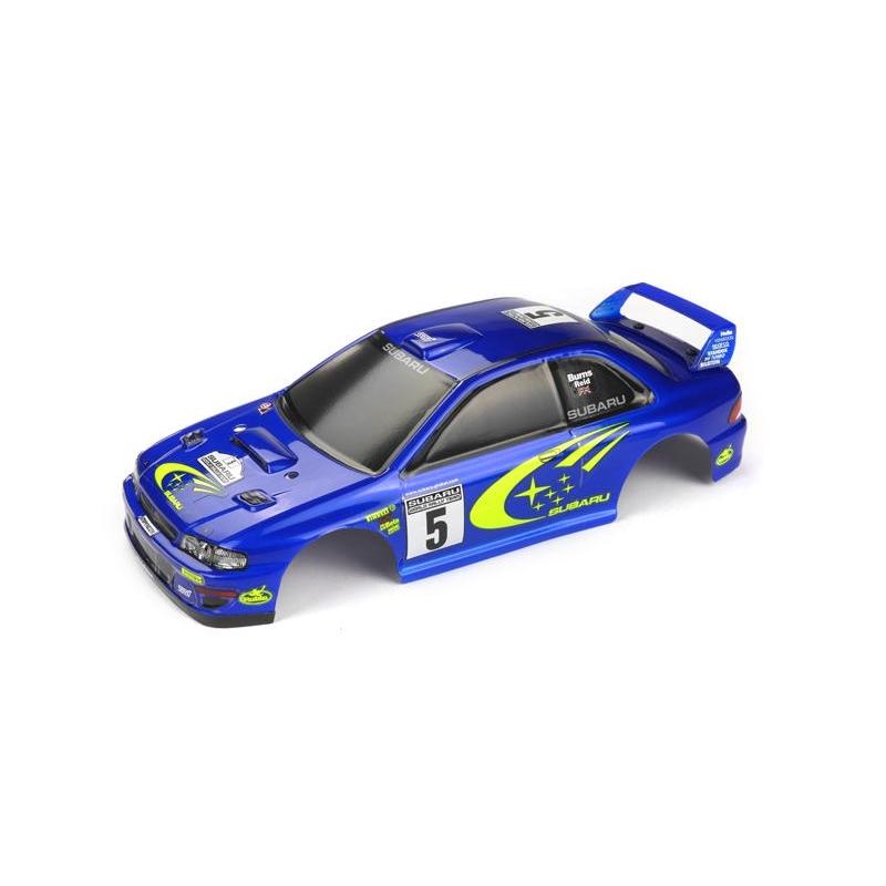 Carrosserie GT24 Subaru peinte et decorée