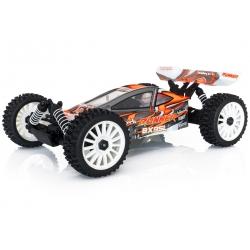 1/8 BX8 Runner Orange type SL charbon