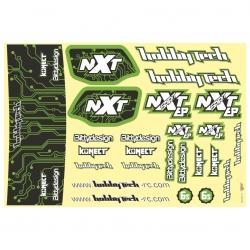 Planche de stickers Spirit NXT EP 2.0 Verte
