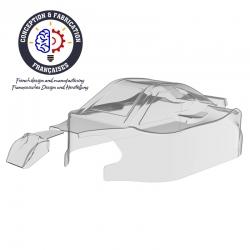 Carrosserie non peinte 1/8ème Spirit type RR21 en Lexan® 1mm