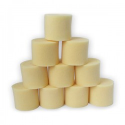 Double mousse de filtre a air 1 / 8    10 pcs