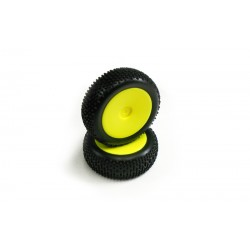 GT14B - NEON YELLOW MOUNT WHEEL
