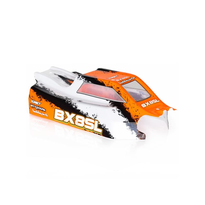 Carrosserie BX8SL noir/blanc/orange