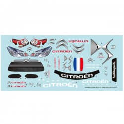 Planche de deco Officiel Citroen DS3