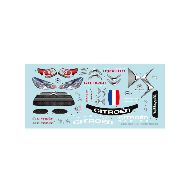 Planche de deco Officiel Citroen DS3