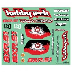 Planche de stickers Hobbytech BXR.S1 buggy