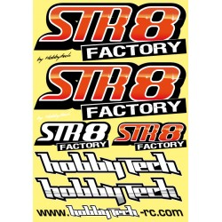 Planche stickers STR8 Factory