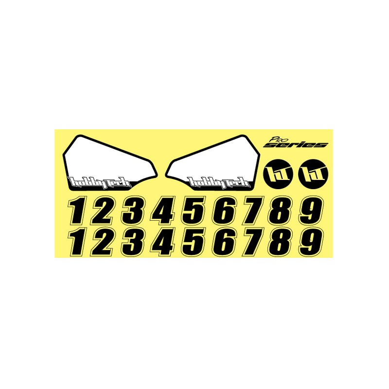 Planche stickers aileron str8