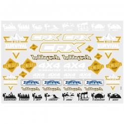 Planche de stickers CRX V2 Survival