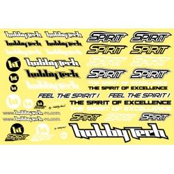 Planche stickers Spirit